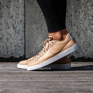 hot sale online 8db6d e1beb Nike Shoes - Brand New Nike Blazer Low SE Premium Vachetta Tan